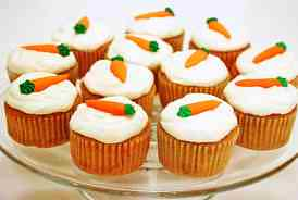 Dozen Of Homemade Carrot Cake Cupcakes